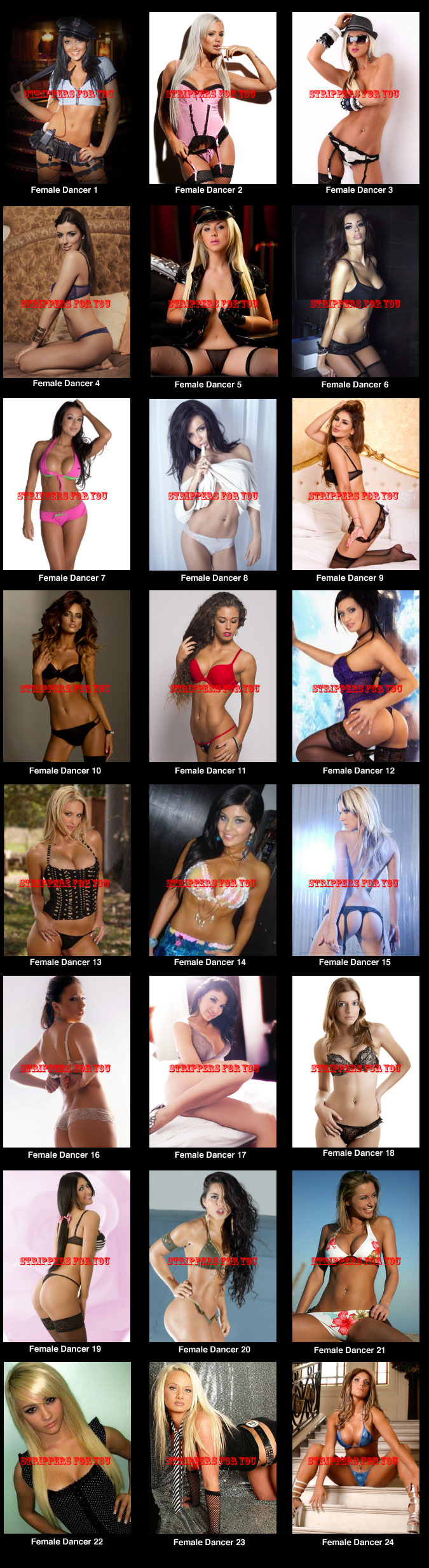 Austin female strippers