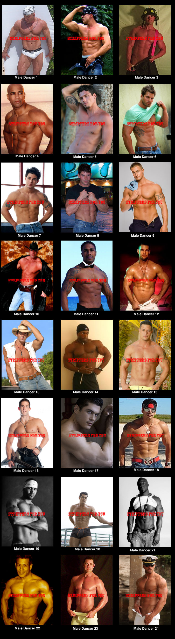 Boston male strippers