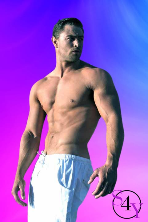 Lead Male Strippers in white pants