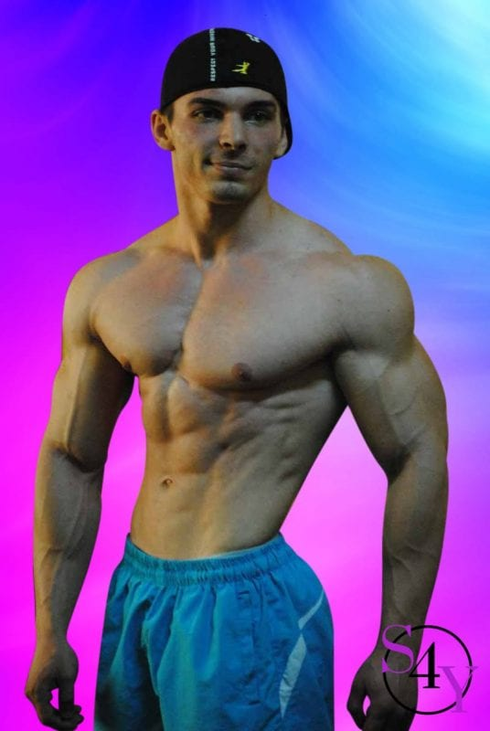 sexy male bodybuilder