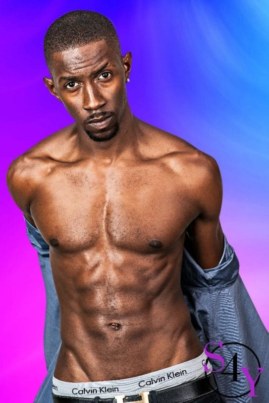 sexy black male dancer