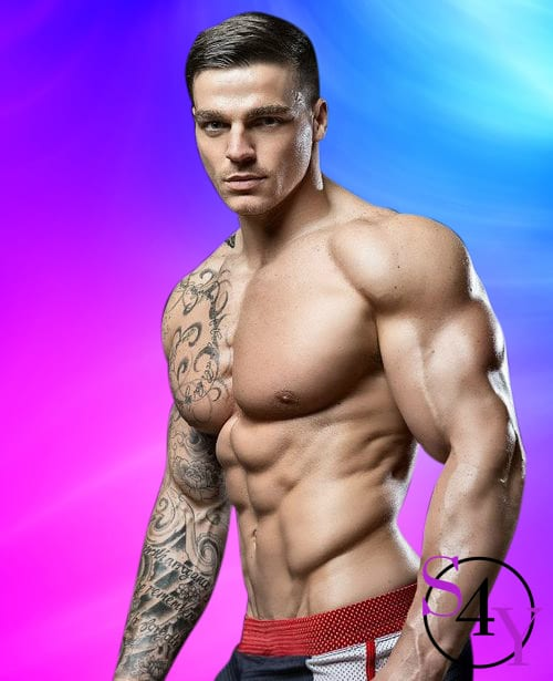 muscle male stripper