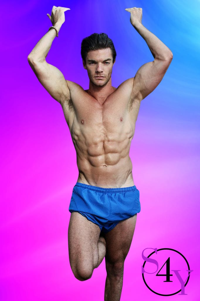 in blue shortsEugene Male Strippers