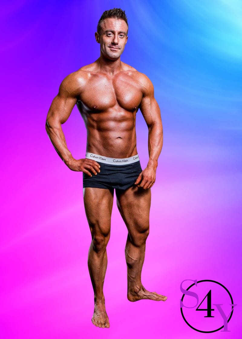 bodybuilder stripper in underwear