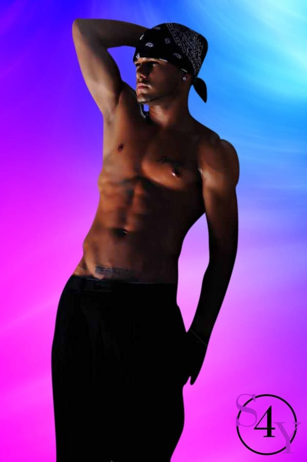 awesome tan male dancer