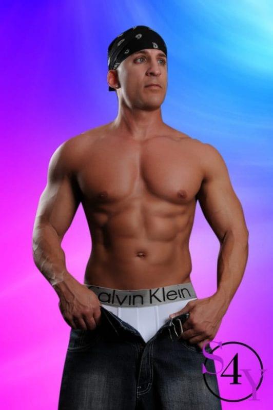 Buff Male Stripper