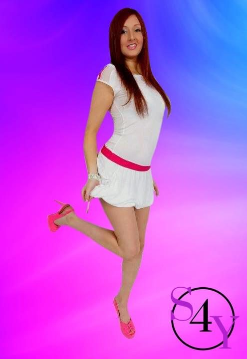 Sexy nurse female stripper
