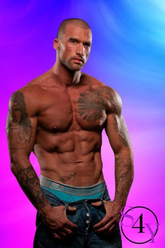 Tan Male Stripper