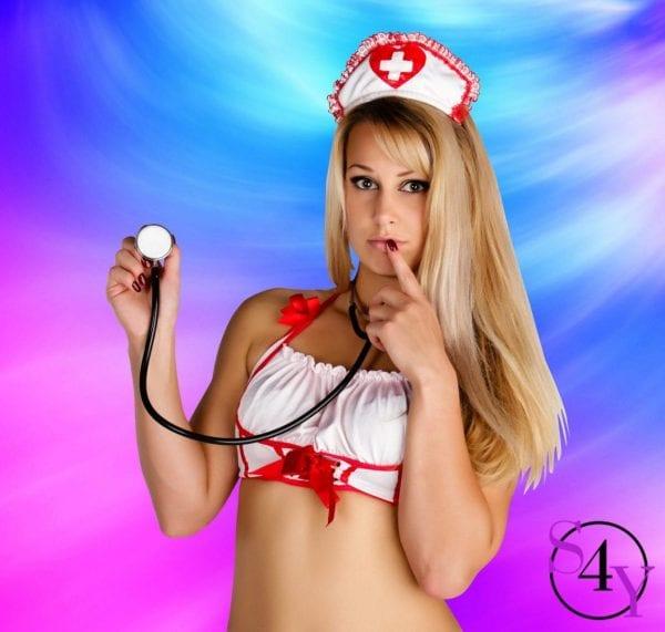 Harper Sexy nurse