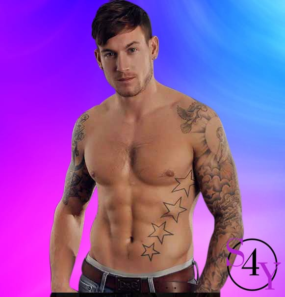 Tattoo male stripper
