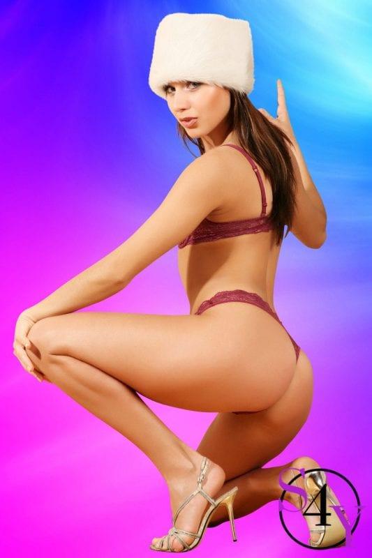 Beautiful  female exotic dancer