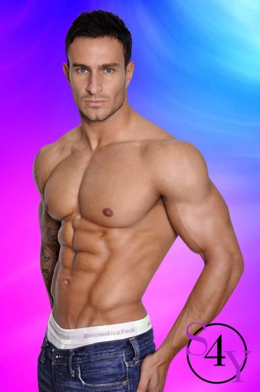 Exotic Male Dancer with no Shirt