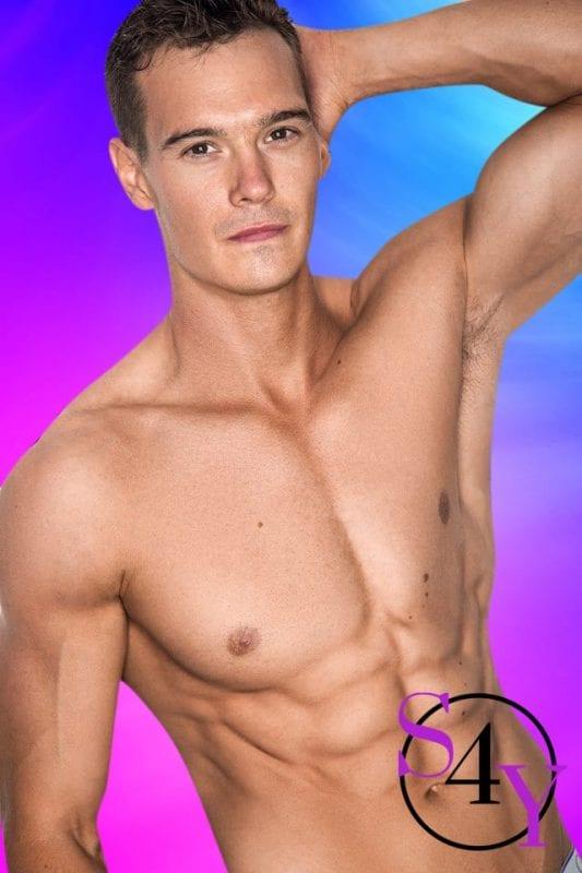 Gorgeous male stripper
